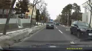 【The Driving Video】Exclusive residential area of Sapporo(real speed) 札幌の高級住宅街・円山西町⇒宮の森