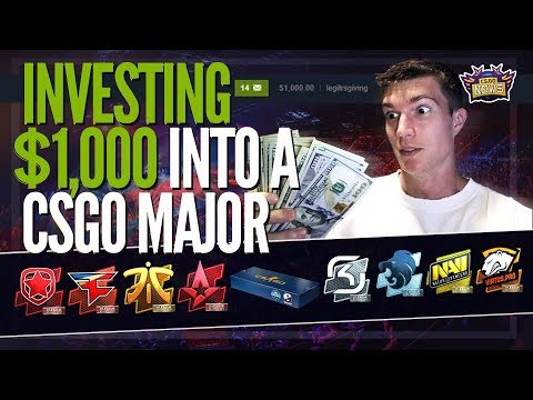 How to Make Easy Money with CSGO By Investing in Majors