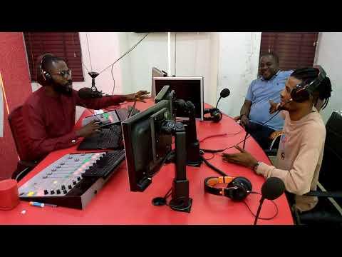 Tosin Jay Radio Tour Part 1 Kiss FM Abuja, Nigeria