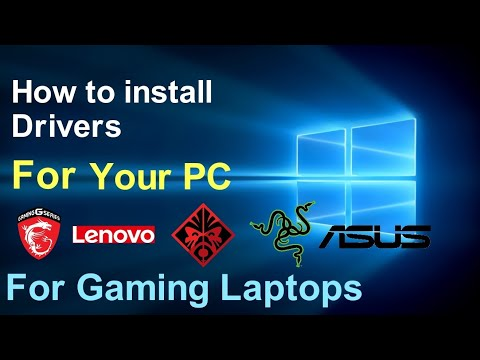 How To Install Drivers On Your Gaming Laptop!   All Graphics Cards & Control Panels