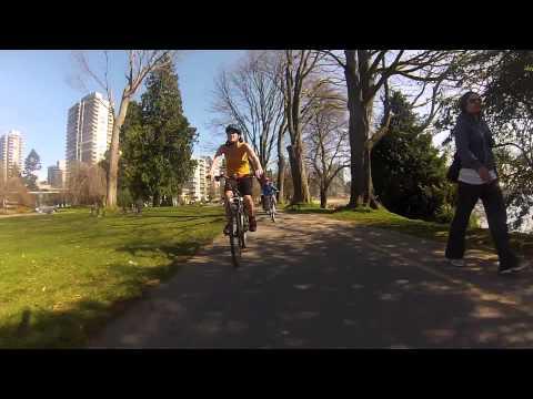 April 1st Stanley Park Trike and Bike