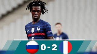 Russia U21 vs France U21 0 2 Highlights All Goals Euro U21 2021