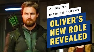 Oliver's New Role Revealed in Crisis on Infinite Earths Part 3