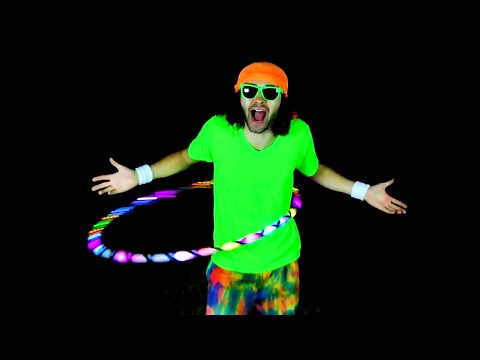 How to Hula Hoop Rap Song LED Version