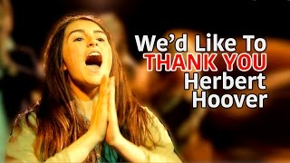 """""""We'd Like To Thank You Herbert Hoover"""" (Annie) COVER by Spirit YPC"""
