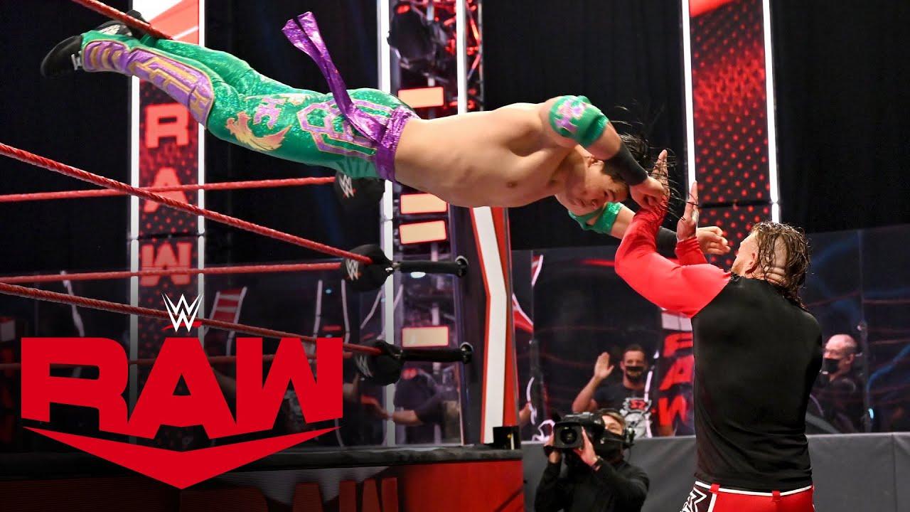 Murphy vs. Humberto Carrillo: Raw, July 27, 2020