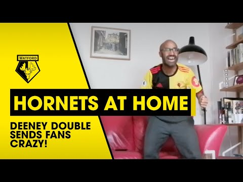 DRAMATIC DEENEY DOUBLE SENDS FANS WILD!   HORNETS AT HOME FAN REACTION