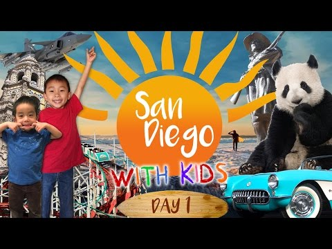 San Diego Zoo, Balboa Park, Corvette Diner (San Diego with Kids): Look Who's Traveling
