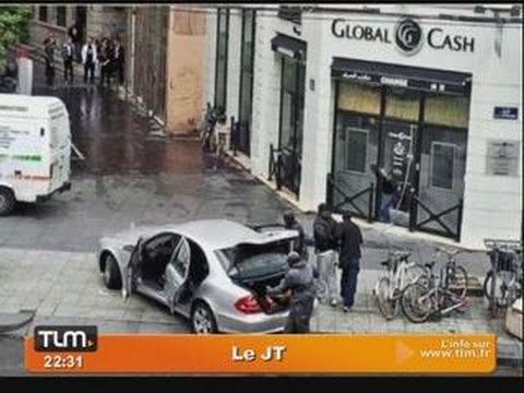 Lyon : braquage d'un bureau de change