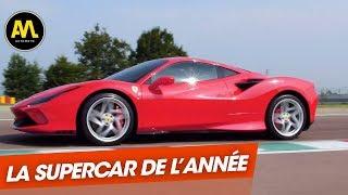 La Supercar de l'année : la Ferrari F8 Tributo !