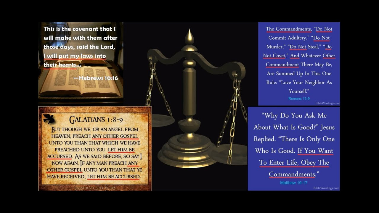 Which LAWS Are Believers Under? Have you CURSED Yourself? Are You SURE You're Under Grace?