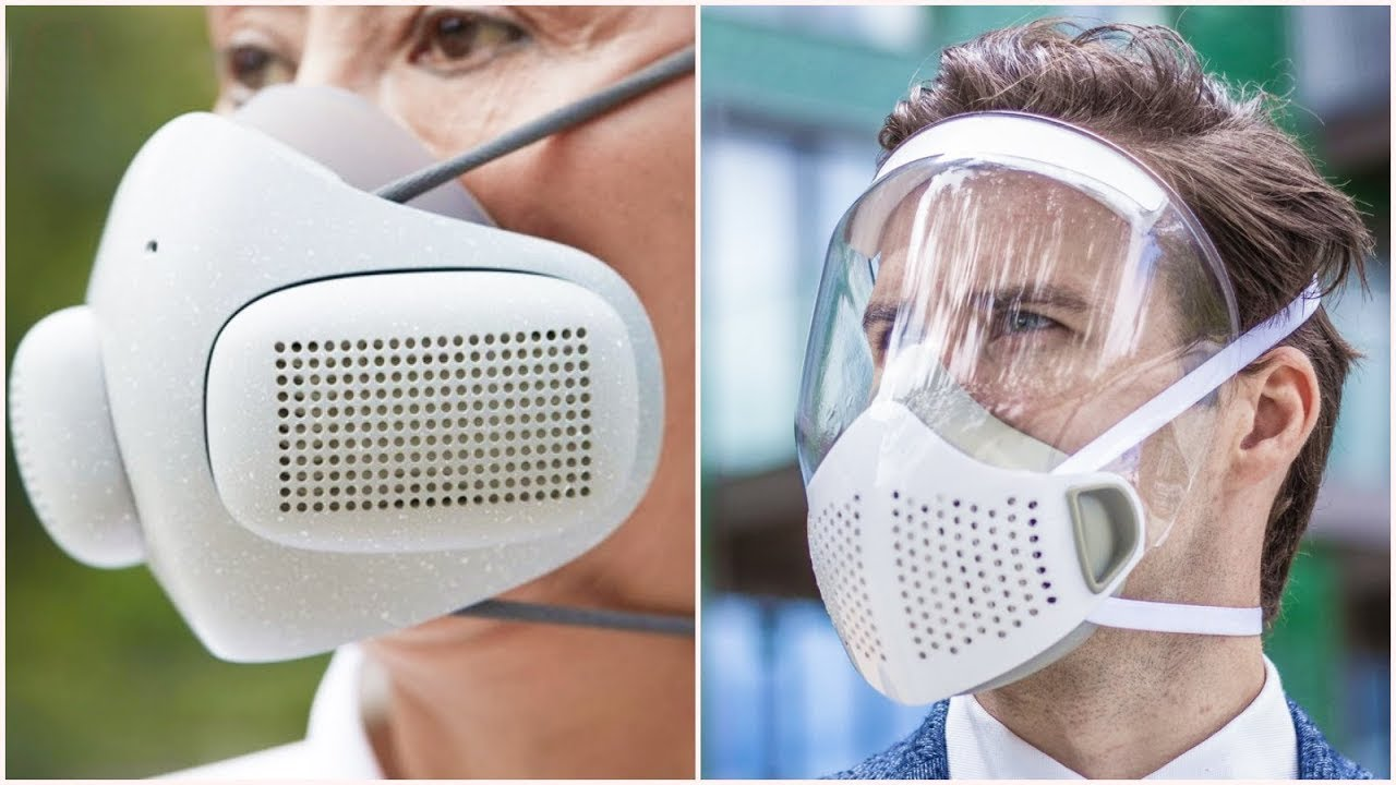 اختراعات عجيبة للحماية من الفيروس