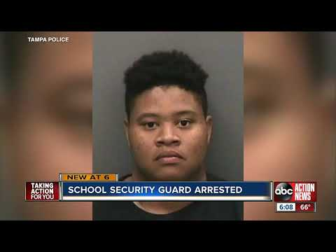 Mychal Maguire - Elementary School Security Officer Arrested For Sexual Battery On Student