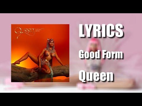 Nicki Minaj - Good Form (Lyrics)