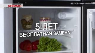 видео Холодильник однокамерный Shivaki SHRF-54CH
