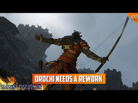 Orochi is Not in A Good Place Right Now