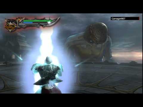 God of war 2 Colossus of Rhodes Boss Battle