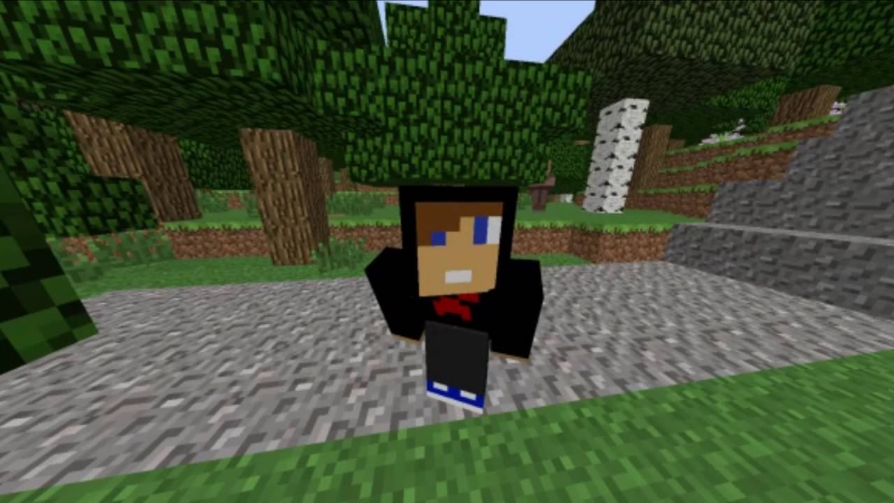 MINECRAFT SKIT School Project YouTube - Minecraft hauser app