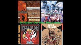 4 Discos Del Ska Mexicano Panteon, Gran Silencio, Inspector, Salon