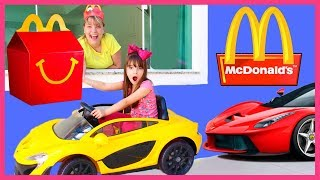 McDonalds CON MI COCHE DRIVE THRU ! McDonalds WITH MY CAR DRIVE THRU ! DRIVE THRU COMPILATION