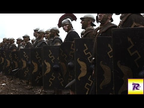 Преторианская Гвардия против двух отрядов: Фракийская знать Total War: Rome 2