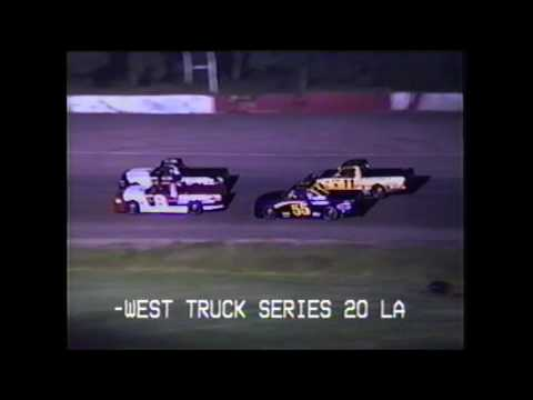 Madison International Speedway Oregon WI Mid West Trucks 7/9/99