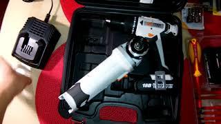 Комплект инструментов Dexter Power 18V для дома. ч.1 Обзор покупок.