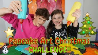 Baixar CHRISTMAS PANCAKE ART CHALLENGE MET HUGO - Bibi