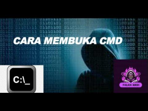 TUTORIAL CARA MEMBUKA CMD (COMMAND PROMPT) - YouTube