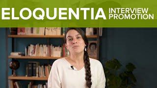 Eloquentia Master Classes (promotion) - ergonomic vidéo production
