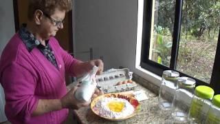 Receita de bolacha da Vó Tereza-parte1- Cerro Azul-pr