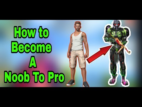 how to become noob to pro in free fire in telugu
