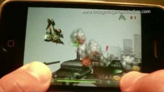 Airblade:  iPhone Game part 1