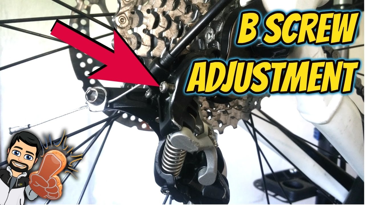 How to Adjust B Screw on Rear Derailleur? - What is B Screw? - Rear  Derailleur Adjustment