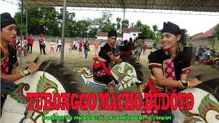 PAGELARAN SENI JATHILAN TURONGGO MACHO BUDOYO tampil di lapangan macanan