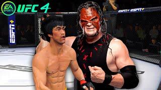 UFC4 Bruce Lee vs Kane wwe EA Sports UFC 4 PS5