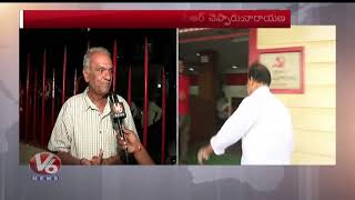 Face To Face With CPI Narayana Over RTC Strike  Telugu News