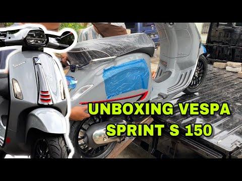 Unboxing Vespa Sprint 150 S 2020 | Harga Mahal Tapi Laku Kerras Inden Sampai 2 Bulan