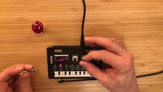 Korg NTS-1, Triangular Arpeggiator Jam