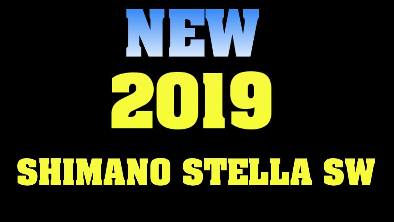 9fe3f210eb6 NEW 2019 SHIMANO STELLA SW I'm Confused - YouTube