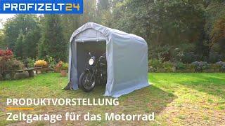 Zeltgarage für Motorrad | Profizelt24