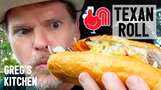 RED ROOSTER TEXAS ROLL FOOD REVIEW - Greg's Kitchen