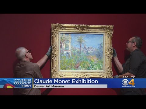 Denver Art Museum Prepares For 124 Pieces Of Claude Monet Works Of Art