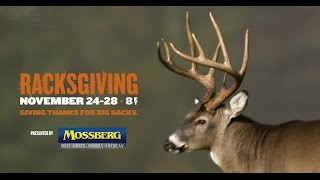 Watch a 5 Day RacksGiving Whitetail Antler buffet on Sportsman Channel!