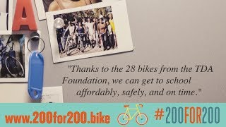 #200for200 Summer Cycling Challenge