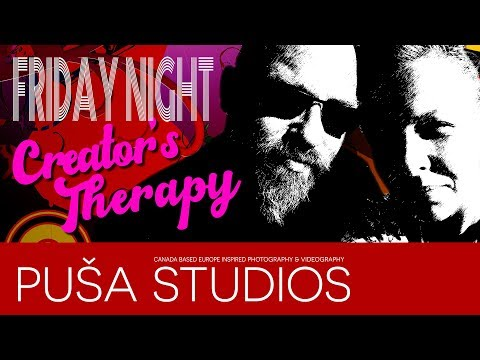 YouTube Milestone Friday Live   Creator's Therapy   Puša Studios Special!