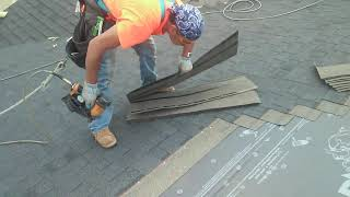 Very fast roofer 4:30 min square full safety and bags