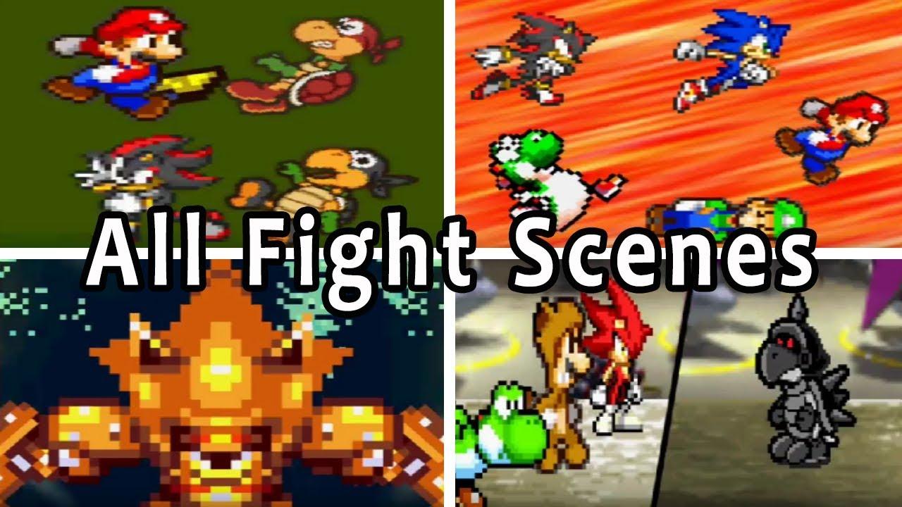 Super Mario Bros. Z Series: All Fight Scenes