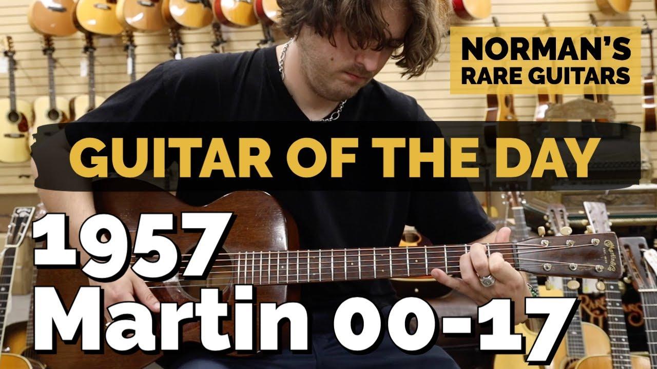 Guitar of the Day: 1957 Martin 00-17 | Norman's Rare Guitars