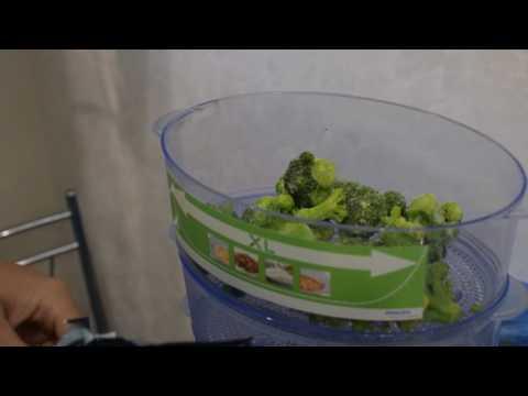 Как приготовить брокколи в пароварке